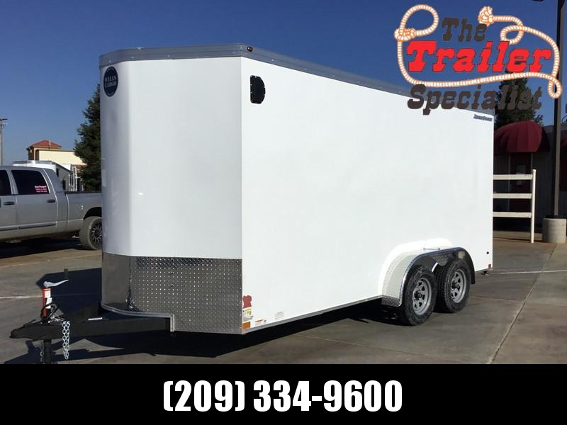 NEW 2019 Wells Cargo RFV716T2 7x16 Enclosed Cargo Trailer