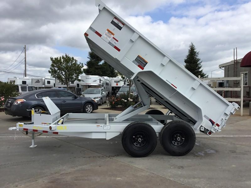 New 2018 Big Tex 10LX-12 7X12 10K Dump Trailer