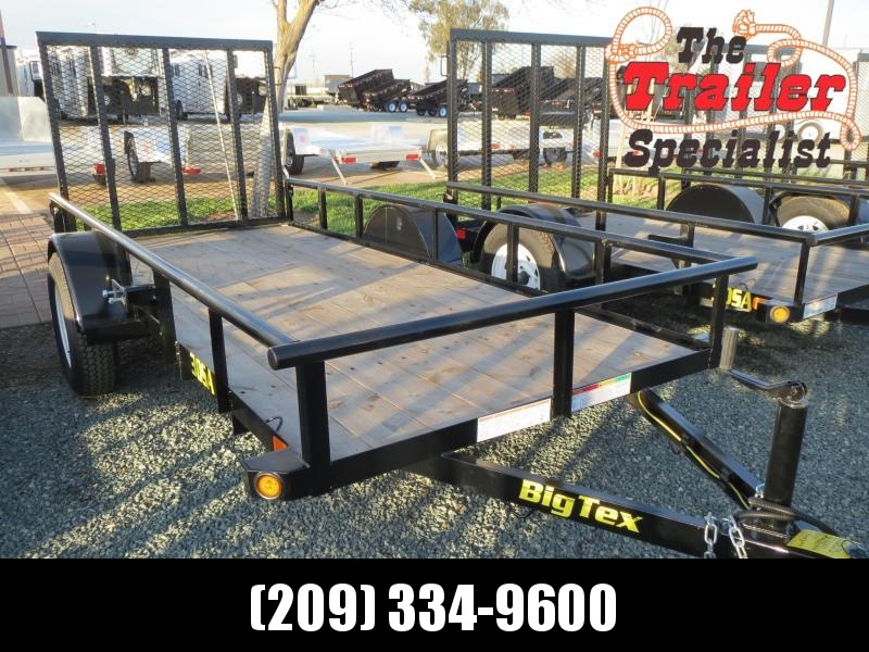 New 2017 Big Tex 30SA-12 5x12 Utility Trailer Vin 62739