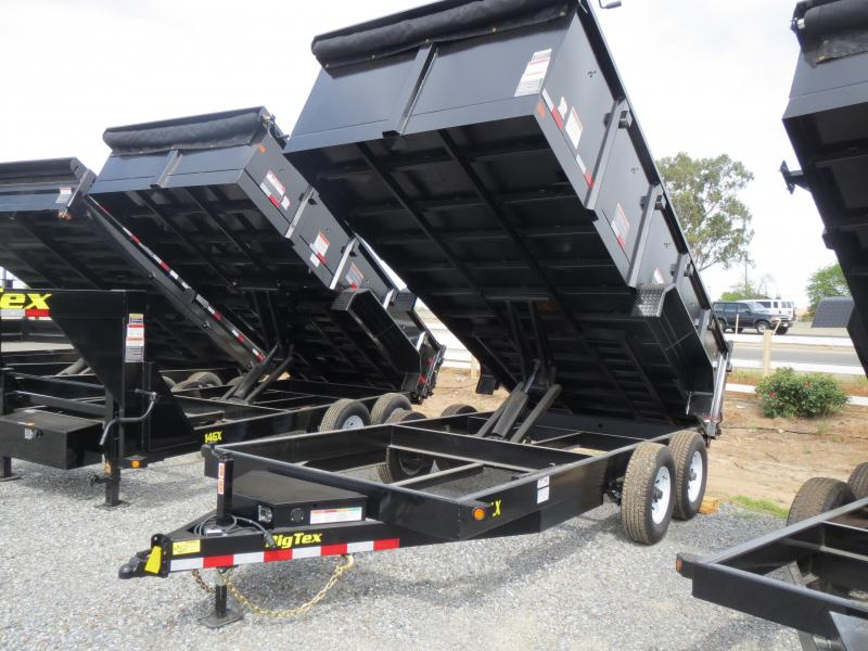 New 208 Big Tex 14LX-16P3 Dump Trailer 7x16 14k