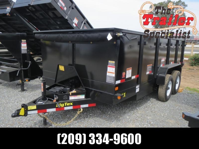 New  Big Tex 14LX-16P3 Dump Trailer 7x16 14k