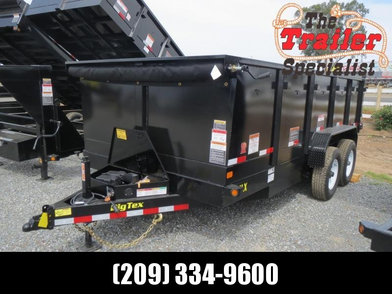 New  Big Tex 14LX-16P3 Dump Trailer 7x16 14k