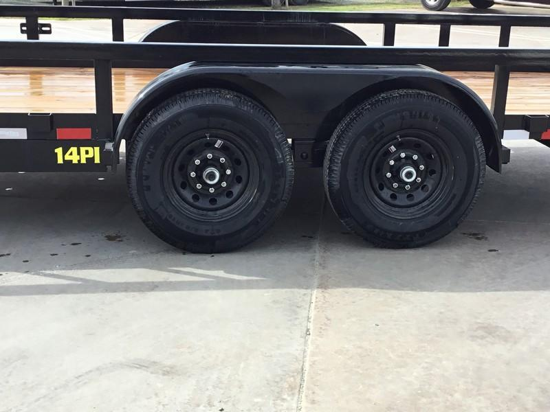 New 2019 Big Tex Trailers 14PI-18 7x18 14K Equipment Trailer