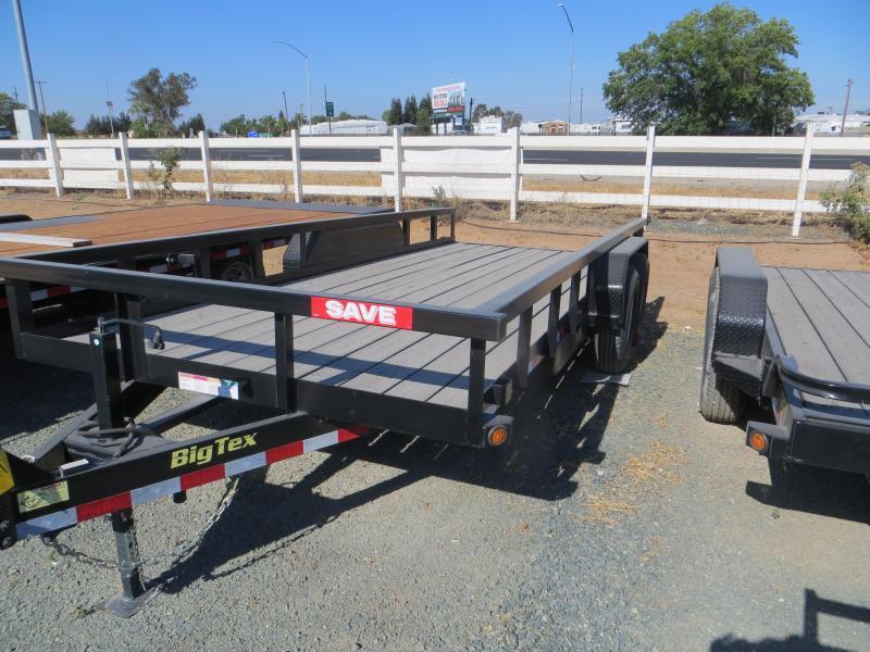New 2019 Big Tex Trailers 14PI-18 7x18 14K Equipment Trailer