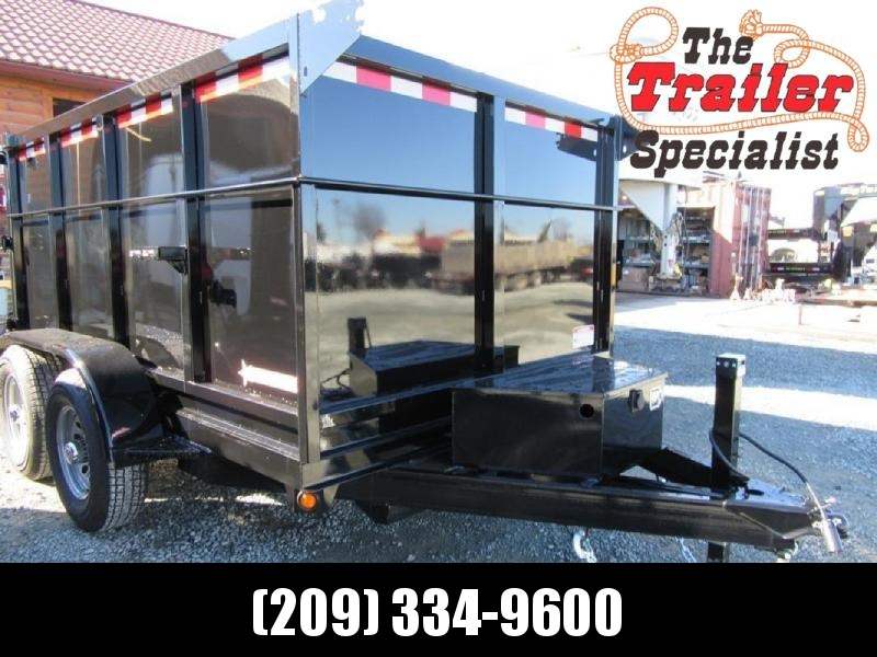 New 2019 Five Star DT260 6x12 7k Dump Trailer 4' Sides