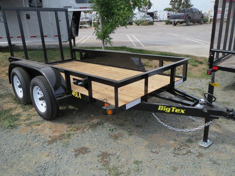 New 2018 Big Tex Trailers 45LA-10 Utility Trailer 5X10 VIN: 94849