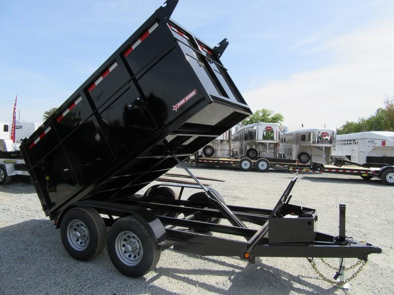 New 2019 Five Star DT256 D10 5x10 4' sides 10K Dump Trailer