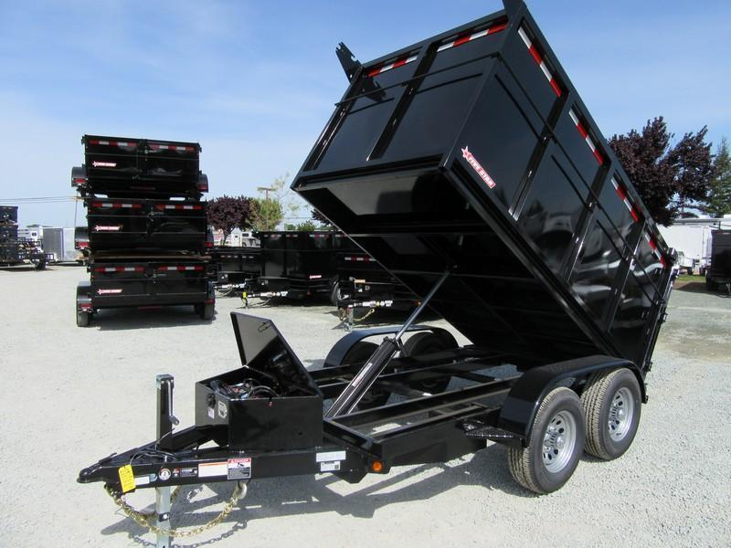 New 2018 Five Star DT256 D10 5x10 4' sides 10K Dump Trailer