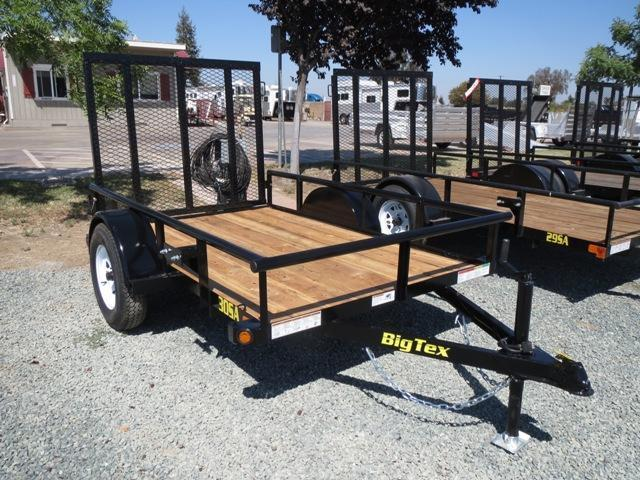 New 2020 Big Tex 30SA-08 5X8 Utility Trailer