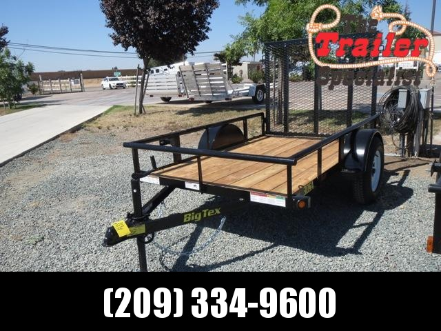 New 2019 Big Tex 30SA-08 5X8 Utility Trailer