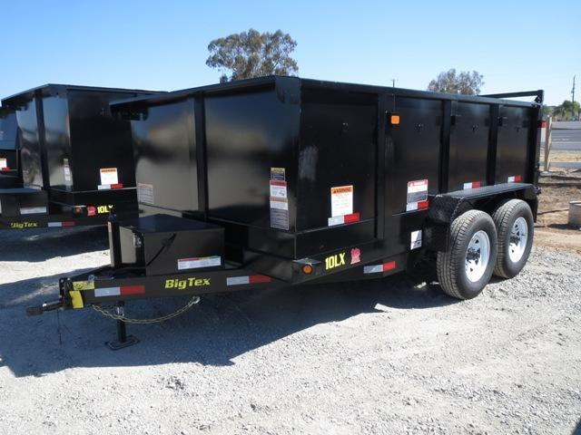 2017 Big Tex 10LX-12P3 83x12 Dump Trailer VIN: 68784
