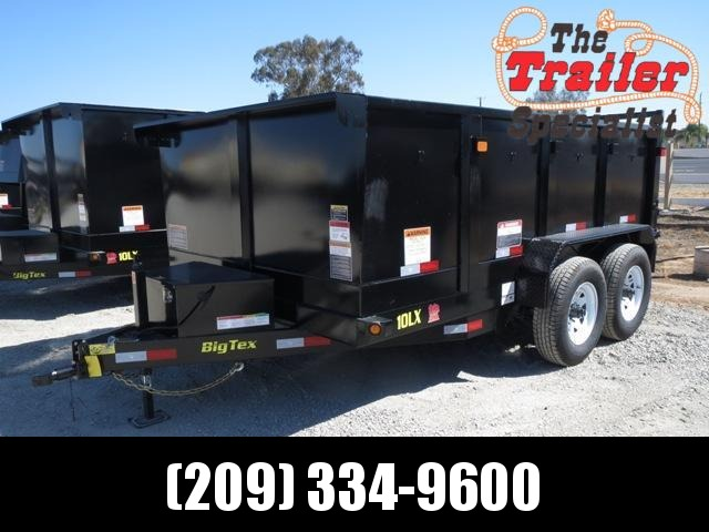 New 2019 Big Tex 10LX-12P3 83x12 Dump Trailer