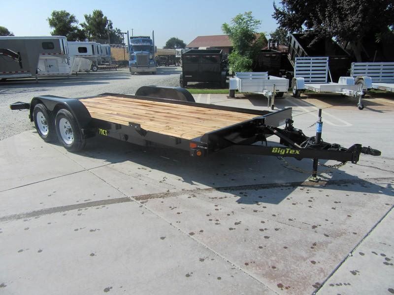 New 2019 Big Tex 70CT-18 Car Trailer Tilt 7x18 7k