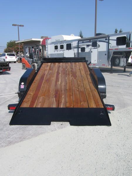 2017 Big Tex 70CT-18 Car Trailer Tilt 7x18 7k VIN:51835