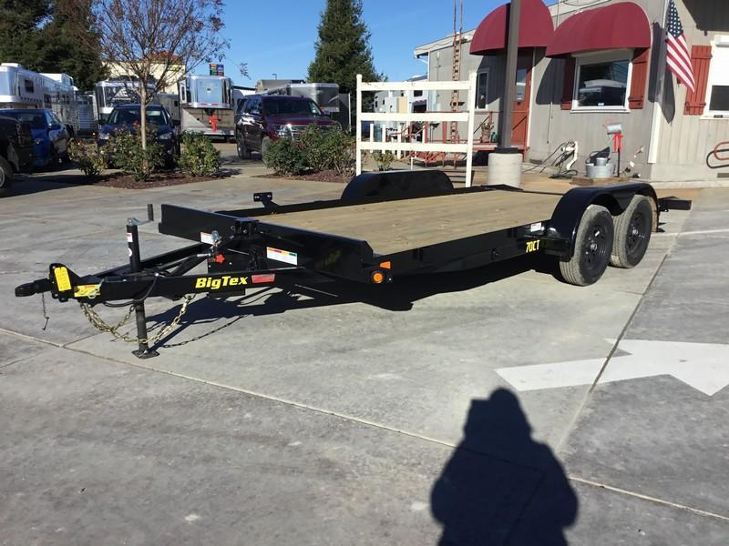 New 2019 Big Tex 70CT-18 Car Trailer Tilt 7x18 7k  in Ashburn, VA