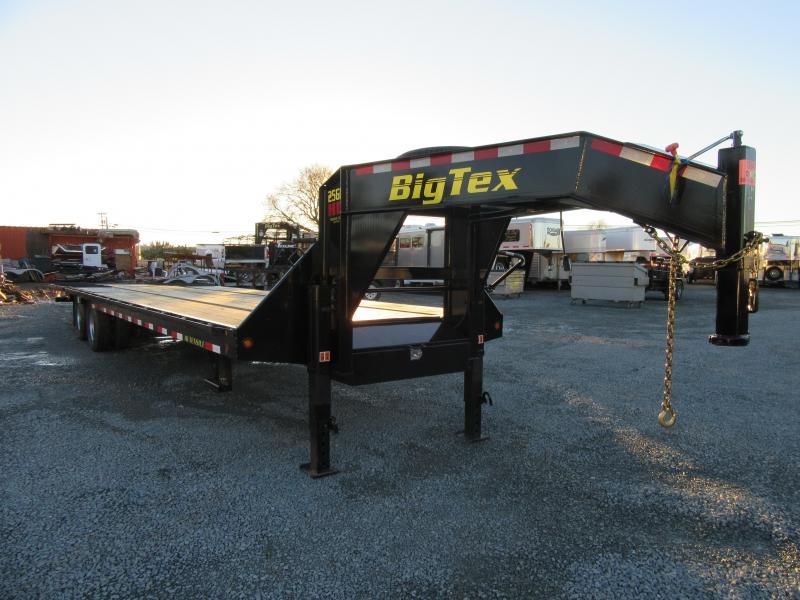 New 2017 Big Tex 25GN-35HDTS 8.5'x35' Hydraulic Dovetail Vin55636
