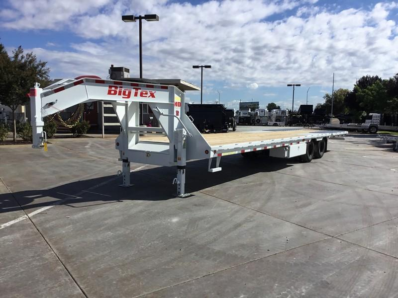 New 2018 Big Tex 25GN-35HDTS 8.5'x35' Hydraulic Dovetail in Circle, AK