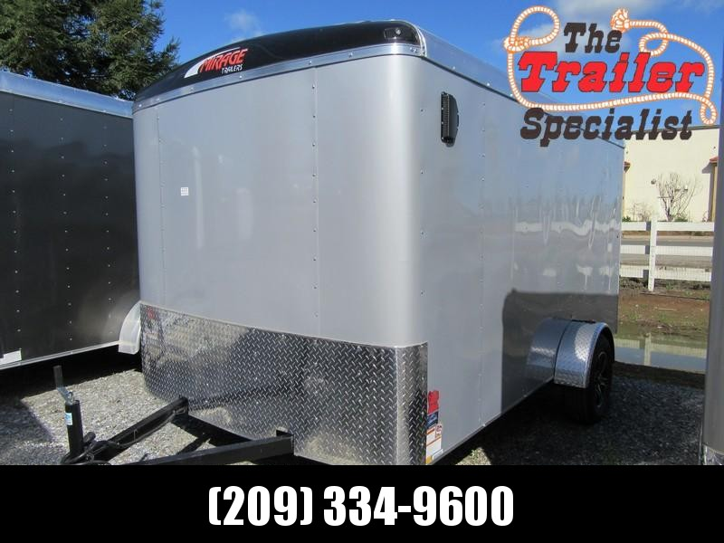 New 2018 Mirage Trailers MXL712SA 7x12 Enclosed Cargo Trailer Vin81666