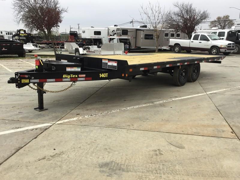 New 2019 Big Tex 14OT-22 14K 8.5x22 Tilt Deck Over Equipment Trailer
