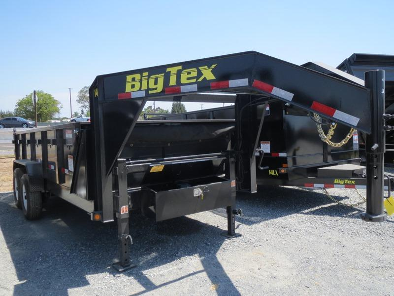 New 2017 Big Tex 14GX-16 Dump Trailer 7X16 14K VIN:72130
