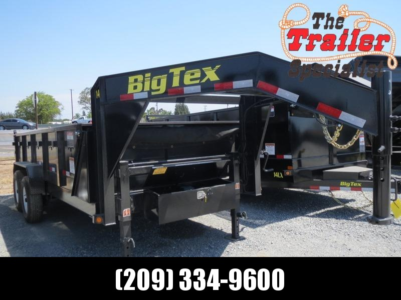 New 2020 Big Tex 14GX-16 Dump Trailer 7X16 14K
