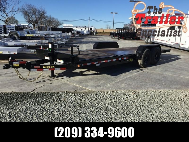 "New 2020 Big Tex 14TL-22 80""x22' 14K Tilt Equipment Trailer"