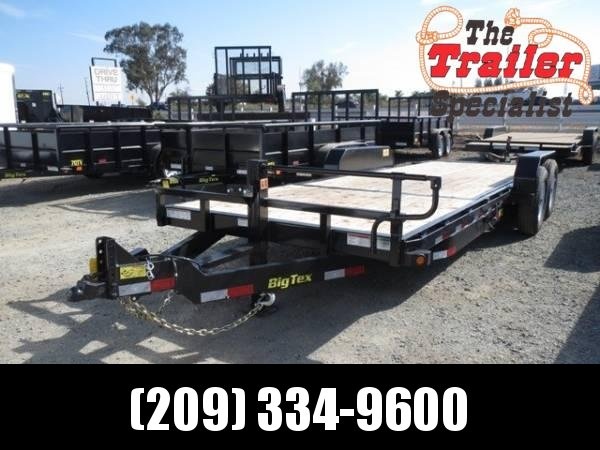 "New 2019 Big Tex 14TL-22 80""x22' 14K Tilt Equipment Trailer"