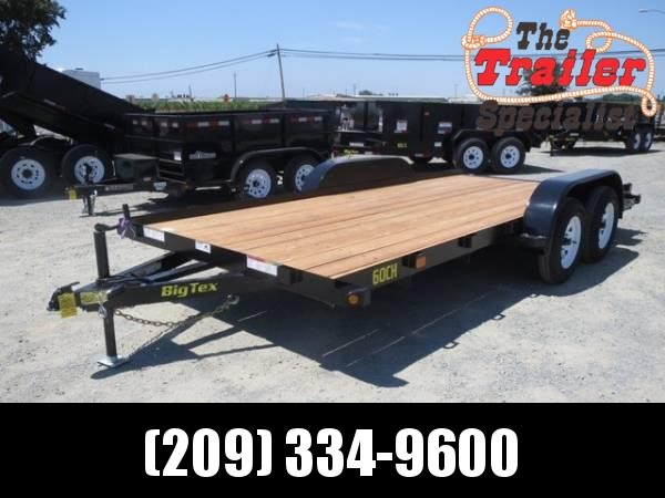 New 2019 Big Tex 60CH-16 7x16' 6k Car/Racing Trailer