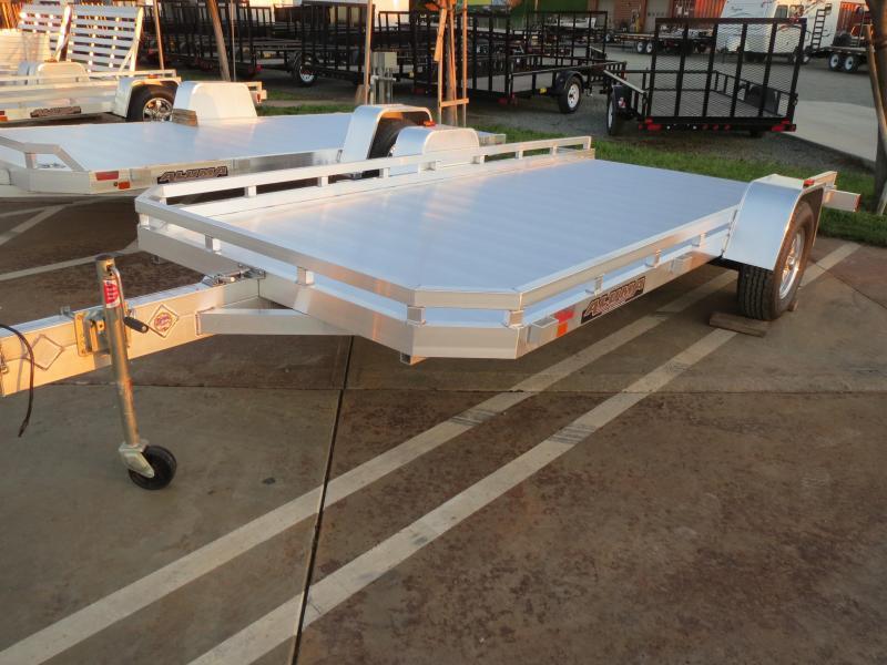 """New 2020 Aluma 7814STilt 78""""x14' aluminum Utility Trailer 2900 GVW Vin71051"""