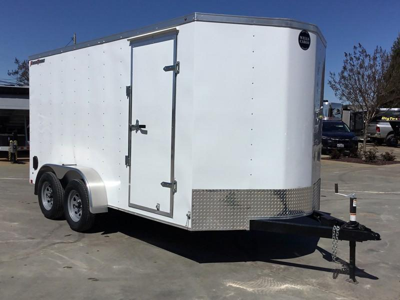 NEW 2019 Wells Cargo FT714T2 Enclosed Cargo Trailer