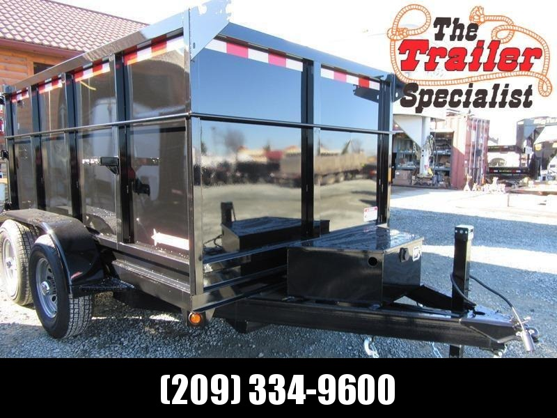New 2019 Five Star DT259 10K GVW 6x10 Dump Trailer