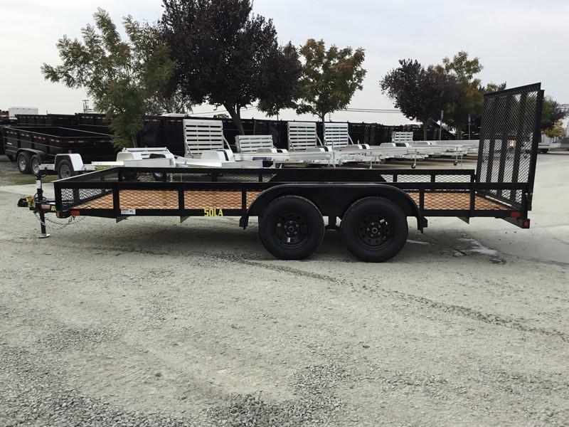 New 2019 Big Tex 50LA-16-4RG 6.5x16 5K GVW Utility Trailer