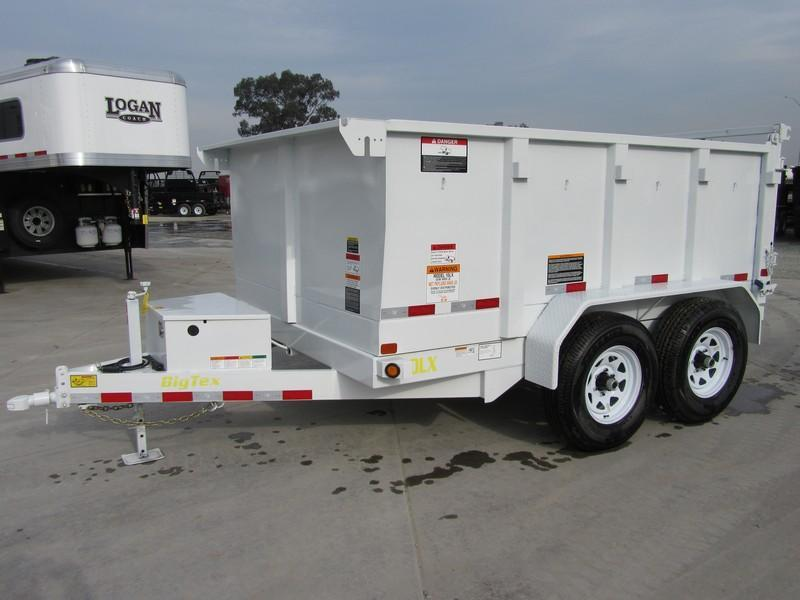 New 2018 Big Tex Trailers 10LX-10P3 7X10 Dump Trailer VIN:84381