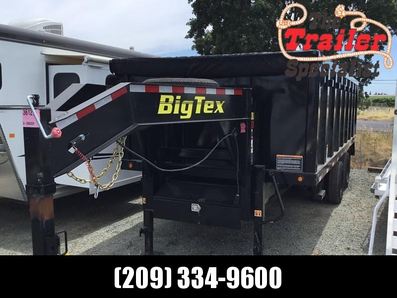 USED 2018 Big Tex Trailers 25DU-20 Dump Trailer
