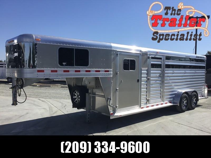 NEW 2019 Elite Trailers 22 ft dual man door stock combo Livestock Trailer in Ashburn, VA