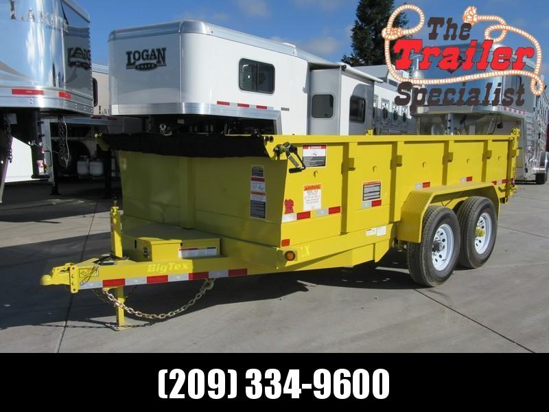 New 2018 Big Tex 14LX-14 7x14 Dump Trailer 14K GVW