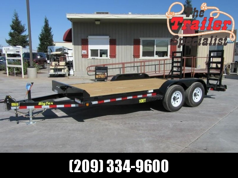 New 2018 Big Tex 10ET-16KR Equipment Trailer 7x16 10k GVW VIN:95474 in Ashburn, VA