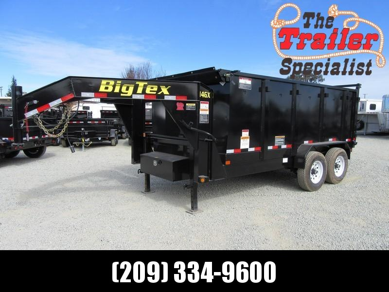 New 2018 Big Tex 14GX-14P4 7x14 GN 14K GVW Dump Trailer Vin 99918
