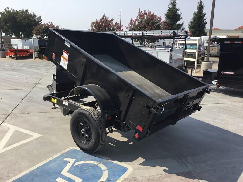 New 2019 Big Tex 50SR-8-5W 5x8 Dump Trailer