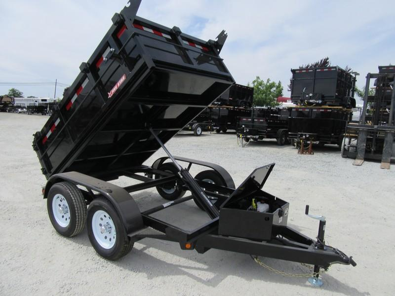 New 2019 Five Star DT291 10K 5x8 2' sides Dump Trailer