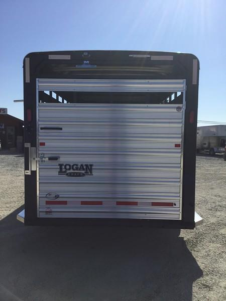 New 2019 Logan Coach 24 ft Stock Combo Livestock Trailer