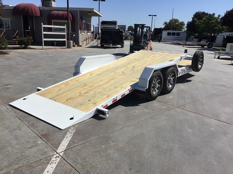 NEW 2019 Heavy Duty Midsota TB-22 7x24' 15400 GVW Equipment Trailer