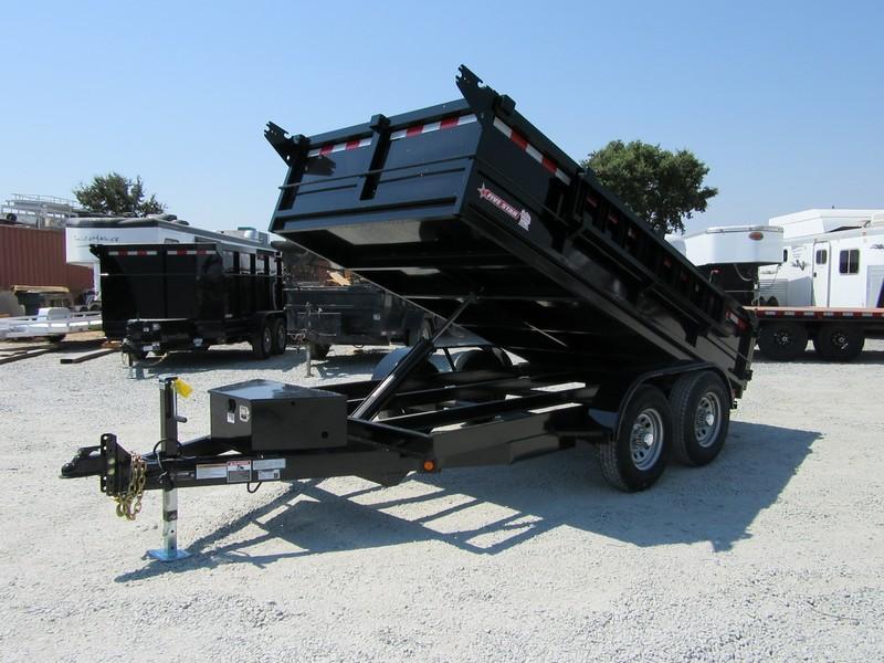 New 2017 Five Star DT261SIR D10 6x12 10K GVW Dump Trailer Vin32847