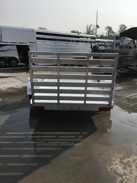 "New 2019 Aluma 6310LW Aluminum Utility Trailer 63""x10'"