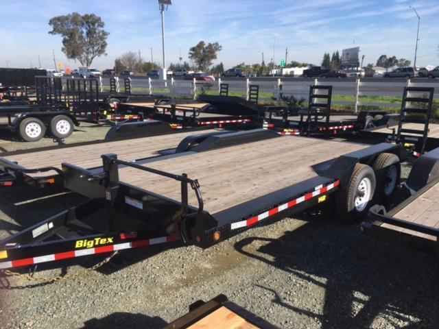 "2017 Big Tex 14DF-18 102""x18' 14K GVW Equipment Trailer VIN:08067"