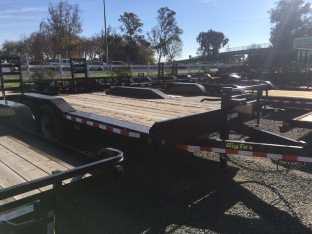 "2017 Big Tex 14DF-18 102""x18' 14K GVW Equipment Trailer VIN:08067"