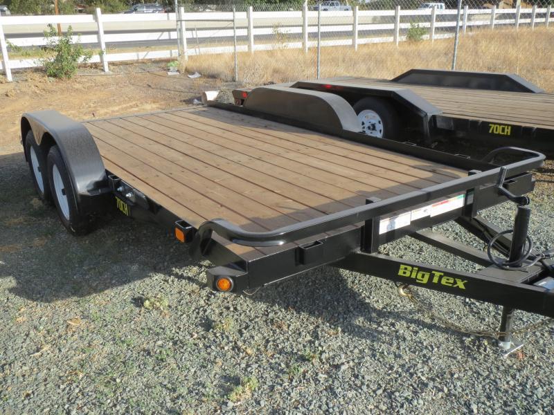 New 2017 Big Tex 70CH-14BRK2 7X14 Car / Racing Trailer vin 18389