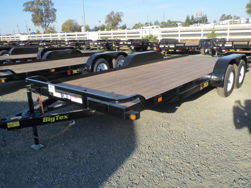 New 2018 Big Tex 70CH-20 7x20 Car / Racing Trailer VIN:97322