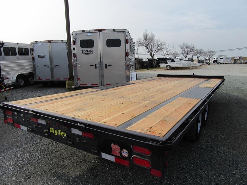 "New 2018 Big Tex 10OA-20SIR 102""x20 Deck Over Trailer"