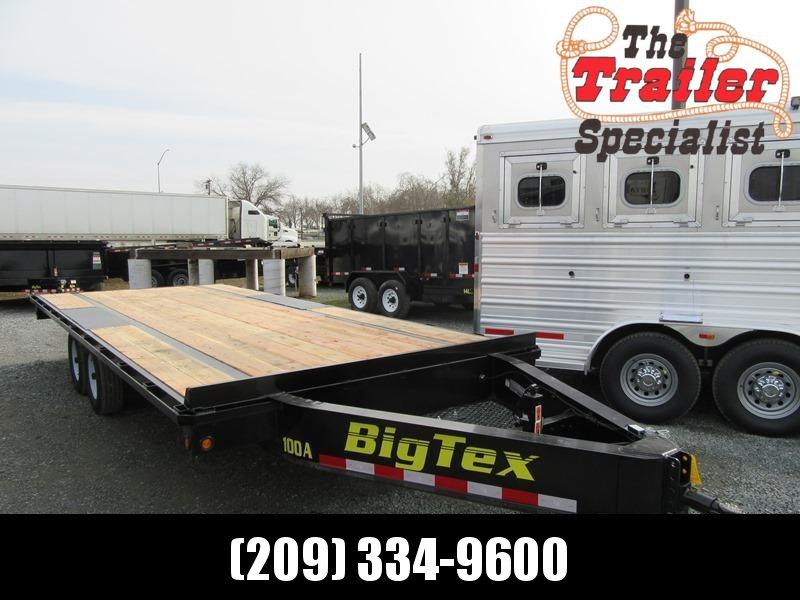 "New 2018 Big Tex 10OA-20SIR 102""x20 Deck Over Trailer"